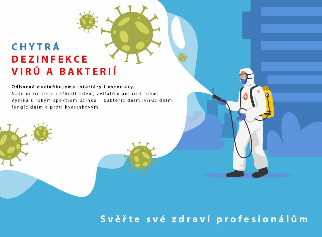 Cyhtrá dezinfekce COVID-19